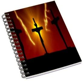 Shopmania A5 Notebook(Jesus cross 3, Multicolor)