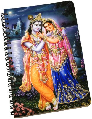 meSleep A5 Notebook(Radha Krishna NBA5-01-165, Multicolor)