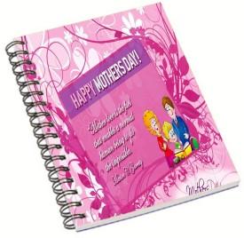 Shopmania Designer-NB-407 A5 Notebook Spiral Bound