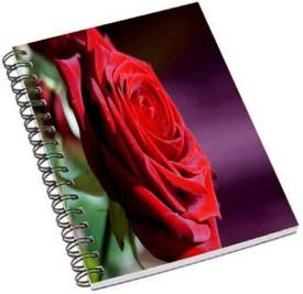 Shopmania A5 Notebook(Roses, Multicolor)