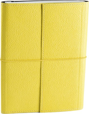 Ecoleatherette A5 Journal(Handcrafted, Light Yellow)