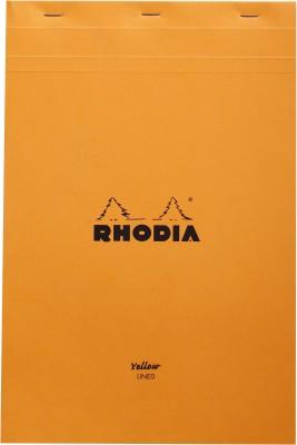 Rhodia A4 Note Pad(Basics Orange American or Legal - No. 19 - A4+ - 318 mm x 210 mm, Orange)