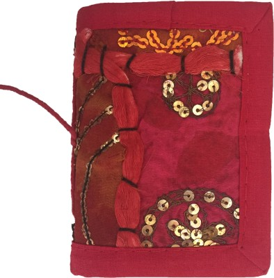 Rstore Mini Journal(Handmade Patchwork Bahi (10x7.1 cm), Multicolor)