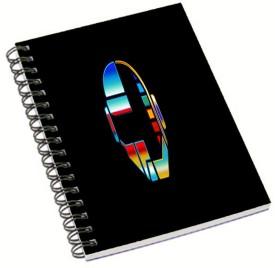 Shopmania Designer-NB-37 A5 Notebook Spiral Bound