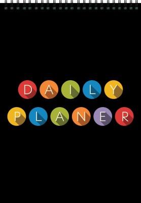 Nourish A4 Planner/Organizer(Daily Planner, Black)