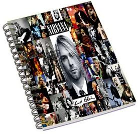 Shopmania Music Band A5 Notebook Spiral Bound