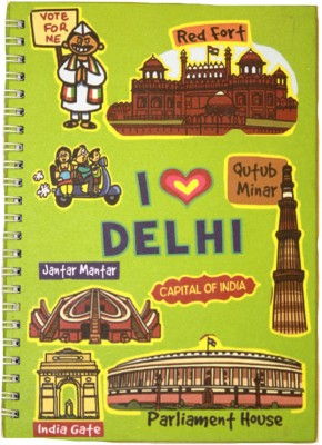 Eco Corner Small Delhi Ruled Exercise A4 Notebook Spiral Bound