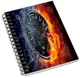 Shopmania Designer-NB-93 A5 Notebook Spiral Bound
