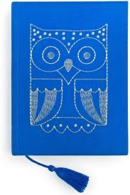 Chumbak Regular Notebook(Festive Owl Notebook, Blue)