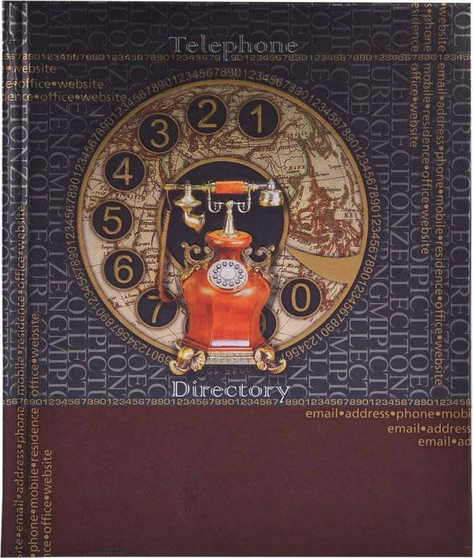 Atlas A5 Telephone Diaries(Designer, Multicolor)