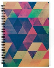 The Fappy Store Trainagle A5 Notebook Spiral Bound