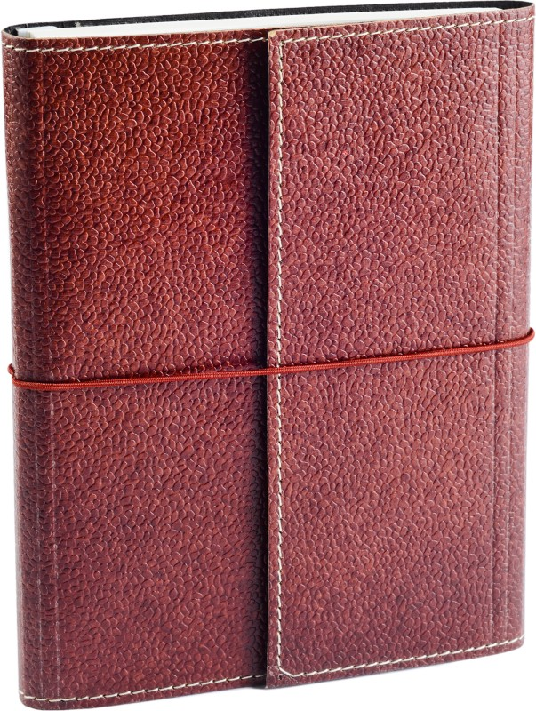 Ecoleatherette A5 Journal(Handcrafted, Dark Brown)