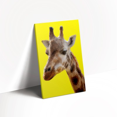Live Out Loud A5 Notebook(Polygon Theme, Yellow)