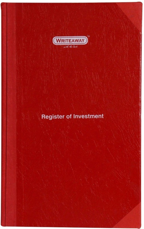 writeaway Regular Journal(Register Of Investment(Company Act-1956), Multicolor)