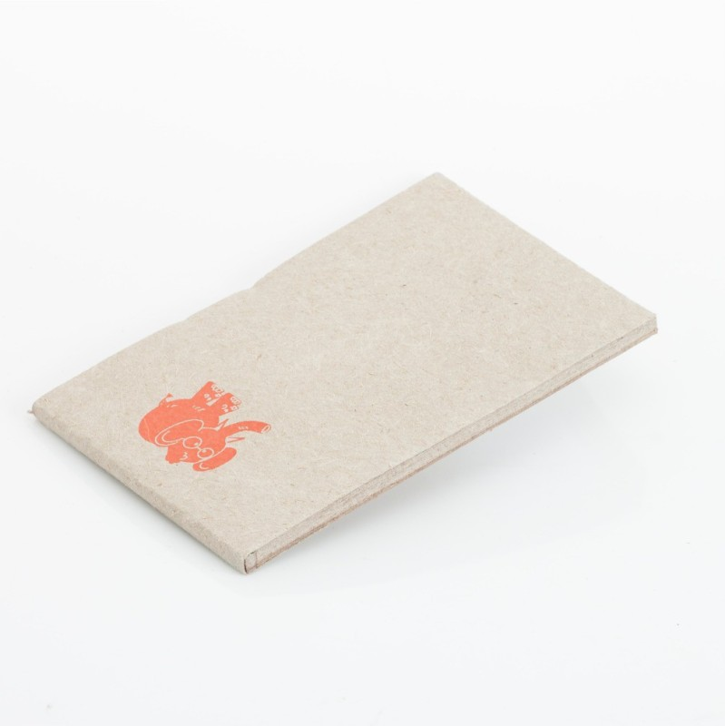 Haathi Chaap Regular Note Pad(Recycled Handmade, White)