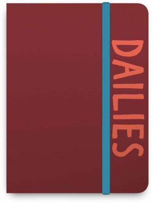 Knock Knock Regular Notebook(The Dailies - Plumb Notebook, Multicolour)