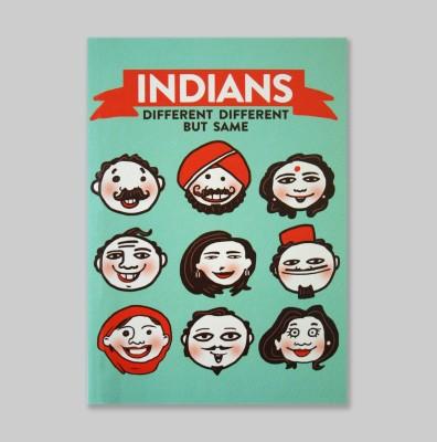 Chimp Indians A6 Notebook Hard Bound