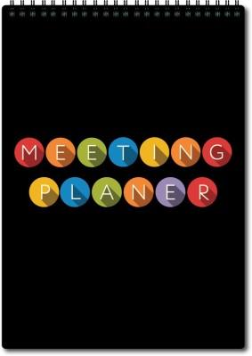 Nourish A4 Planner/Organizer(Meeting Planner, Black)