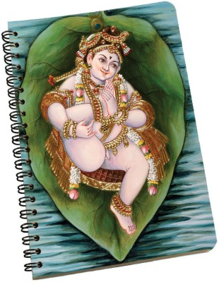 meSleep A5 Notebook(Krishna NBA5-01-019, Multicolor)