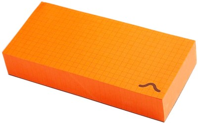 Rubberband Memo Pad(Memo Block, Orange)