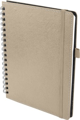 Ecoleatherette A5 Diary(Wiro, Beige)