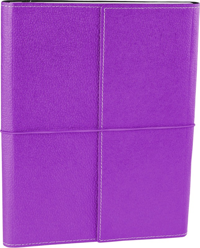 Ecoleatherette B5 Journal(Handcrafted, Lilac)