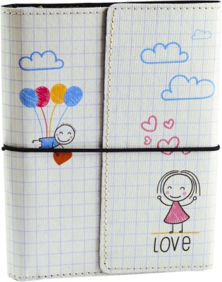 Ecoleatherette A6 Journal(Valentine Gift, Multicolor)