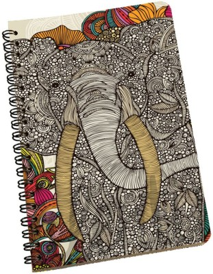 meSleep A5 Notebook(Elephant NBA5-01-242, Multicolor)