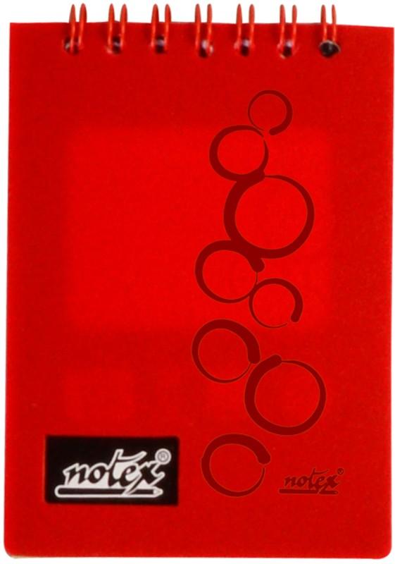 Notex A7 Memo Pad(Executive Pocket (Set of 4), Red)