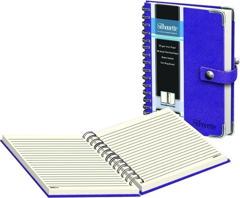 Campap A5 Notebook(Silhouette (Set of 1))