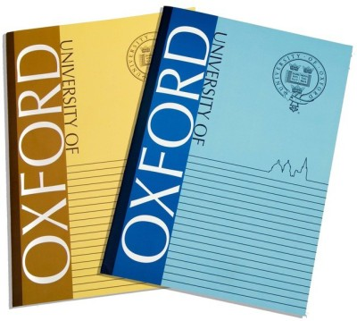 University of Oxford A4 Notebook