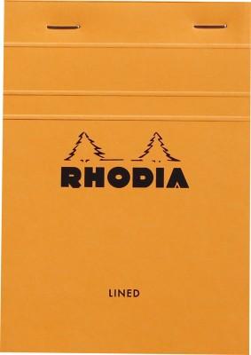 Rhodia A6 Note Pad(Basics Orange - No. 13 - A6 - 148 mm x 105 mm, Orange)
