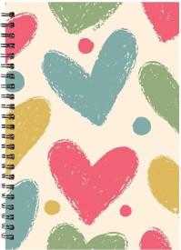 Printelligent A5 Notebook(Printelligent, Multicolor)