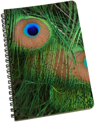 meSleep A5 Notebook(Peacock NBA5-01-232, Multicolor)