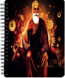Shopmania Designer-NB-558 A5 Notebook Spiral Bound