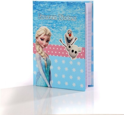 Baby Oodles A5 Notebook(kids themes, Blue)