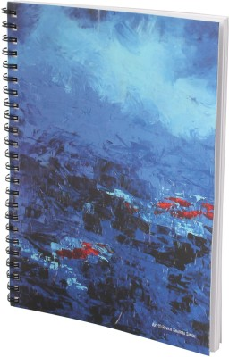 Indian Colours Art Cover A5 Notebook Spiral Bound