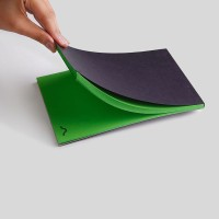 Rubberband A5 Note Pad(Green)
