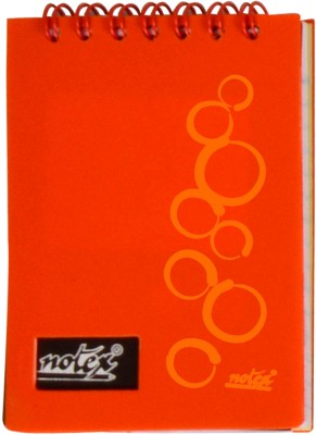 Notex A7 Memo Pad(Executive Pocket (Set of 4), Orange)