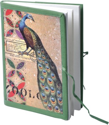 Pinnacle Assorted Notebook(Peacock bahi, Multicolor)