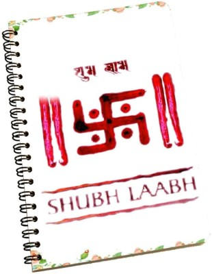 meSleep A5 Notebook(Shubh Laabh NBA5-01-208, Multicolor)