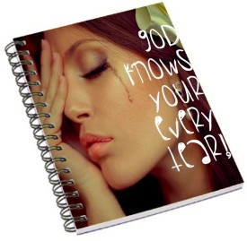 Shopmania Designer-NB-342 A5 Notebook Spiral Bound
