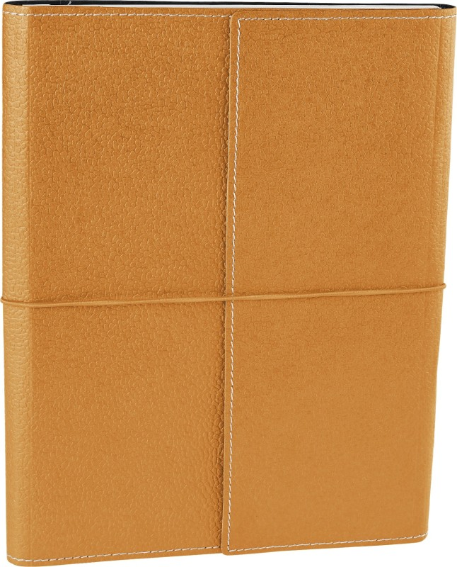 Ecoleatherette B5 Journal(Handcrafted, Royal gold)