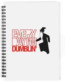 The Fappy Store Every Day I'M Dumblin' A5 Notebook Spiral Bound