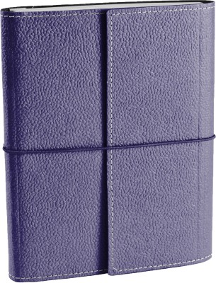 Ecoleatherette A5 Journal(Handcrafted A5 Journal, Violet)