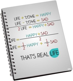 Shoprock Real Life A5 Notebook Ring Bound