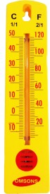 OMSONS OS1225 ANALOG Thermometer(Yellow)