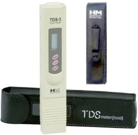 HM TDS-3 Handheld TDS Meter with Carrying Case Digital Thermometer