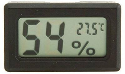Shrih SH-1166 Mini Hygrometer Digital Temperature Thermometer(Black)