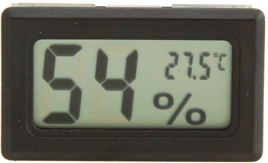 Gadget Heros B0146CP5FC GHMH Thermometer(Black)